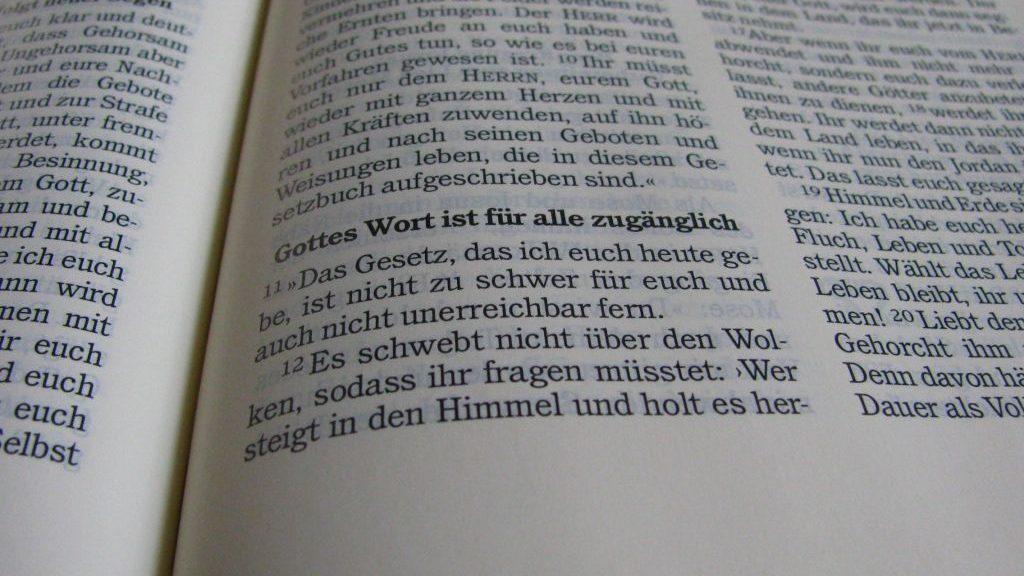Wort-Gottes-Feier am 2. September um 18.30, Thomas-Morus-Kirche!