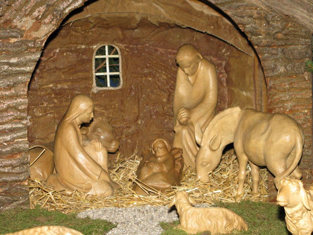 Allen Menschen ein gesegnetes Weihnachtsfest!