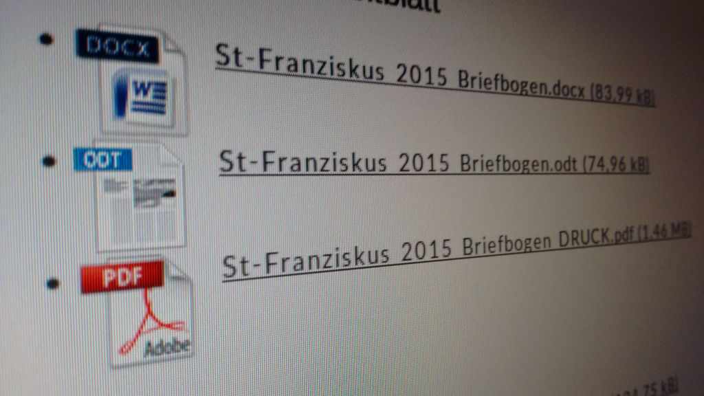 Geschützt: Downloads | Katholische Kirchengemeinde Sankt Franziskus ...