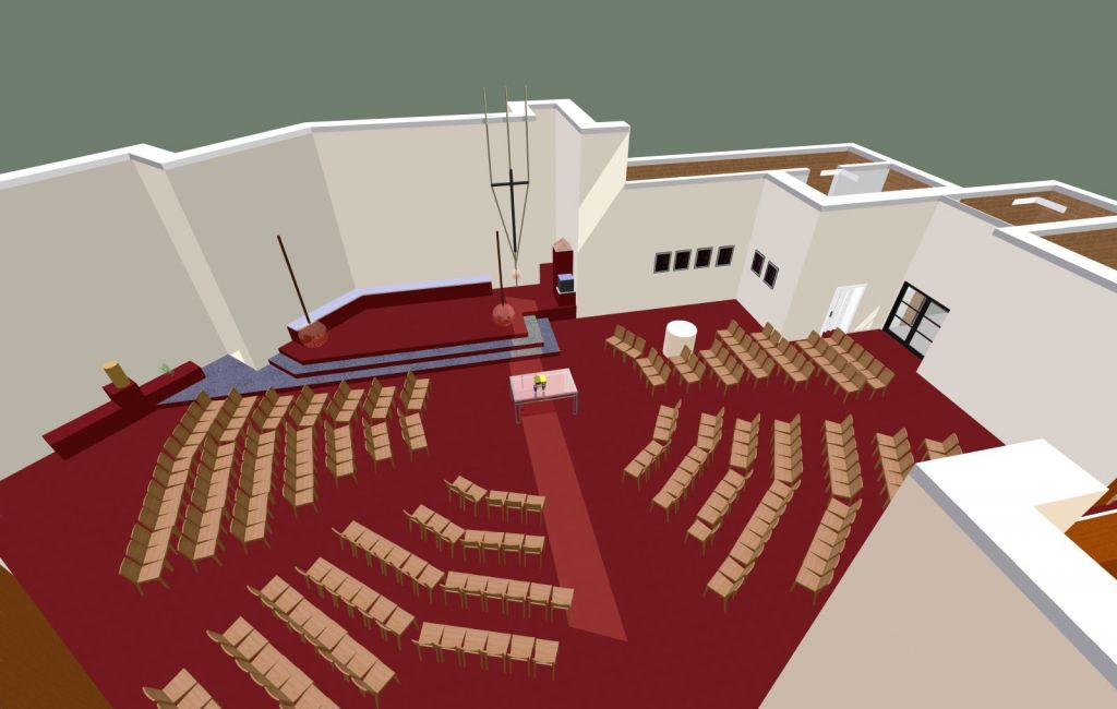 Umgestaltung der Thomas-Morus-Kirche