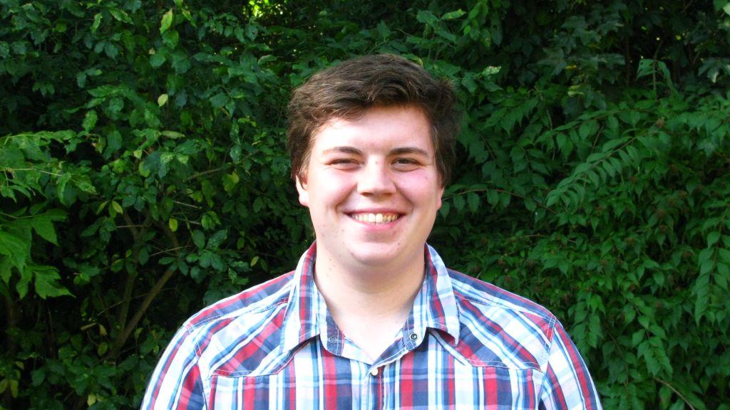 Neu als Jahres-Praktikant: Davin Lucas!