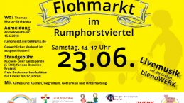 Rumphorst-Flohmarkt rund um die Thomas-Morus-Kirche!