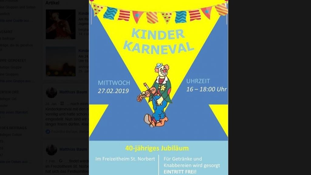 40 Jahre Kinder-Karneval!