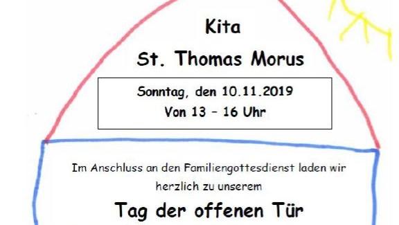 Tag der Offenen Tür in der Kita Thomas Morus