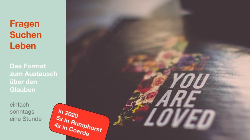 """""""Glauben teilen"""" in 2020: suchen – fragen – leben"""