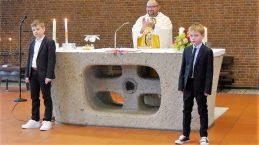 """""""Kleine"""" Erstkommunion auch in der Norbertkirche"""
